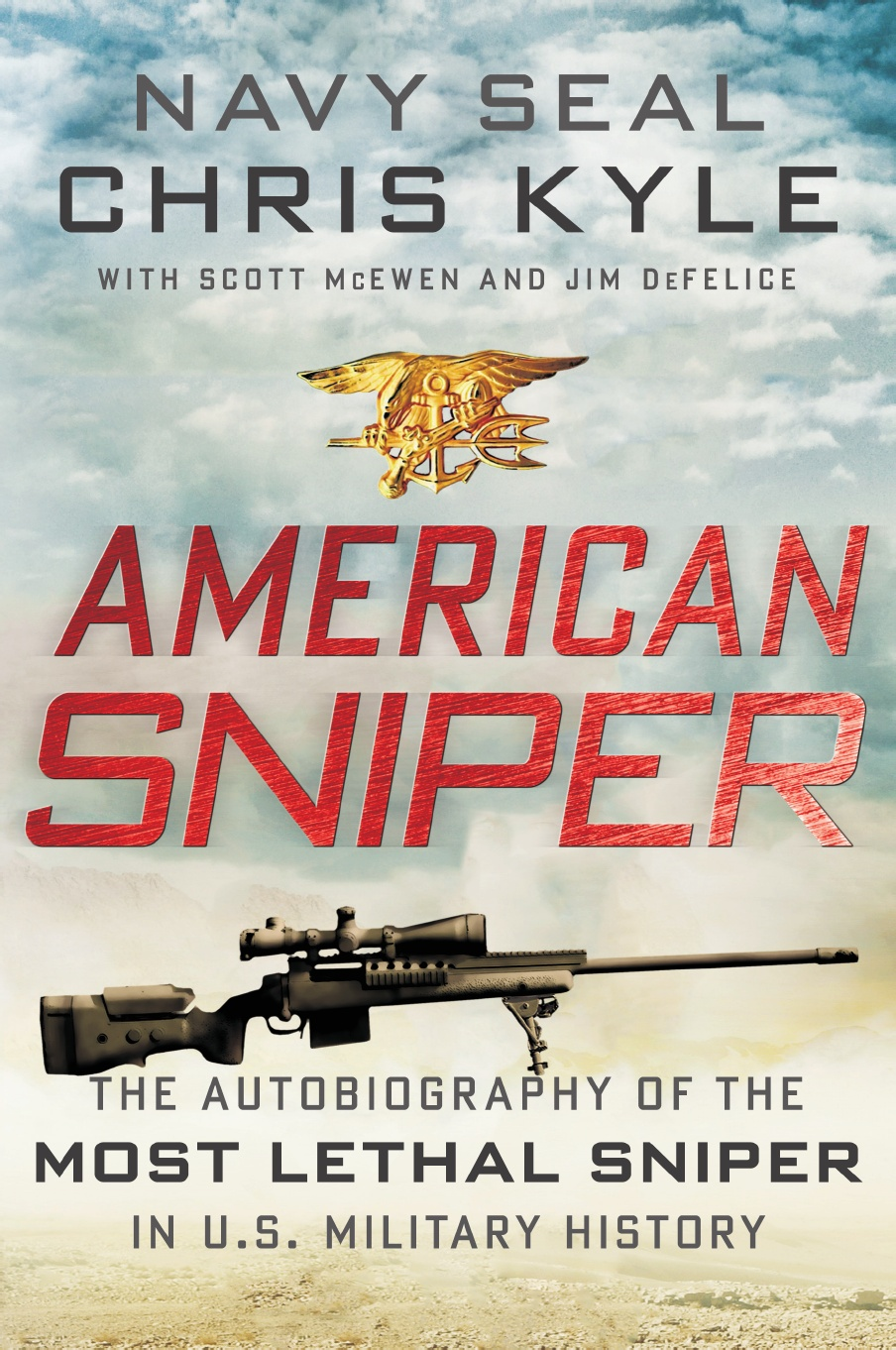 """memoir on american sniper Or, as i believe i put it in a blog about the trailer, """"clint eastwood's american sniper trailer will ruin your pants  in his memoir,."""