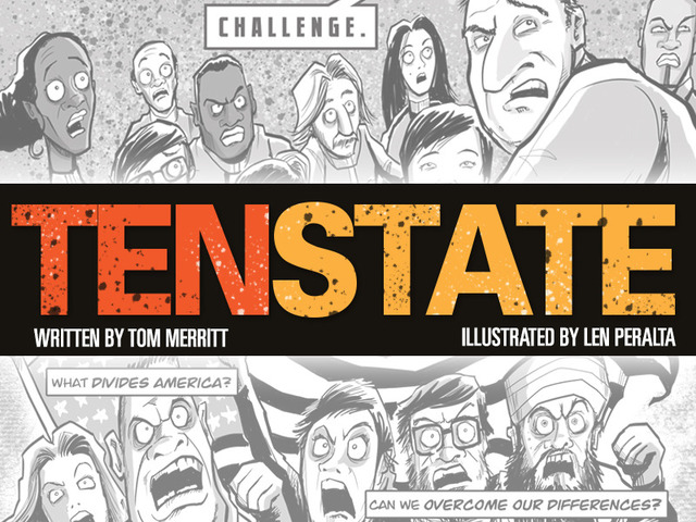 TenState: Part Reality Show, Part Comic Book, All Entertainment!