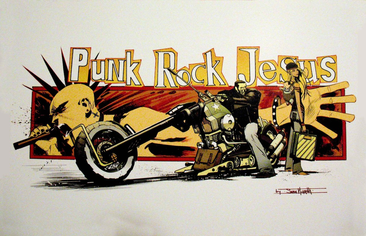 Punk Rock Jesus: Putting Our Faith Back in Comics