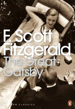 The Great Gatsby Cover: Released by Penguin Modern Classics in 2000
