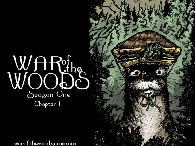 War of the Woods: A Fictional Tale of Animals and Aliens