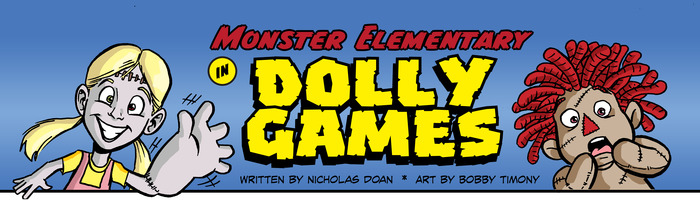 Nick Doan takes Comics to School with Monster Elementary