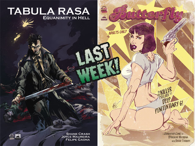 Tabula Rasa/Butterfly: A Grindhouse Feature in Comic Form