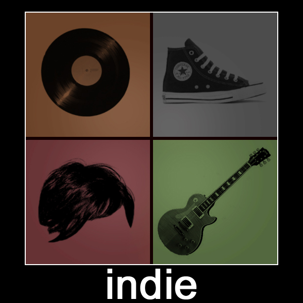 Why is Indie Music So Much Cooler than Indie Books?