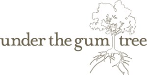 under the gum